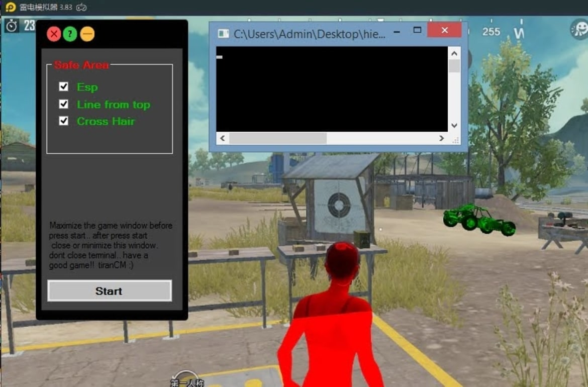 PUBG Emulator ESP Hack 1 - Free Game Cheats