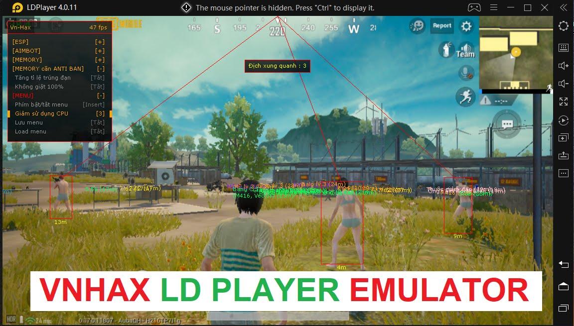 VnHax LD Player PUBG Hack - PUBG LD PLAYER HACK AIMBOT ESP - Download VnHax LD Player PUBG Hack - PUBG LD PLAYER HACK AIMBOT ESP for FREE - Free Cheats for Games