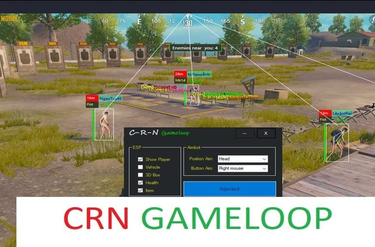 crn gameloop pubg hack